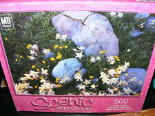 500pc MB Puzzle Marble Medicine Bow Range, WY - Sealed