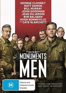 The Monuments Men (DVD, 2014)