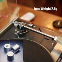 1x Replace Turntable Tonearm Anti-Skating Weight 2.6g For SME LENCO Thorens Arm