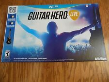 GUITAR HERO LIVE Controller WII NINTENDO GAME Rock Music Activision Box Set NEW