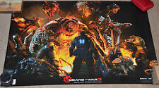 "AMAZING! RARE! Promo Gears of War 3 Comic-Con 2011 POSTER (24x36"") International"