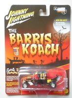 Barris Koach Black JOHNNY LIGHTNING SILVER SCREEN MACHINES DIE-CAST 1:64