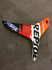 07-12 Honda CBR 600RR Left Mid Fairing ABS PANEL COWL 64370-MFJ-D000