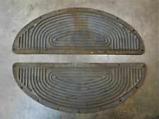 Harley parts Wla steel footboard top plates Nos 1943-47 Wwii All Knucklehead Ul