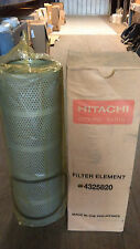 Hitachi Excavator Hydraulic Filter 4325820 - CS650 CX550 EX 285 Cartridge