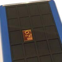 1 Element Card 1 Gram 999.9 Pure Solid Fine Gold Bullion Valcambi Combibar Bar