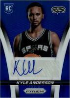 2014-15 Panini Prizm Rookie Autographs Prizms #26 Kyle Anderson Auto /499 -NM-MT
