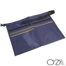 5 pocket Money Bag, Market Trader Belt Pouch Storage Cash holder with Zip