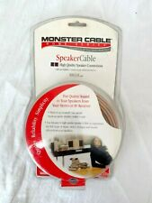 Monster Cable 16-GAUGE Stereo Speaker Duraflex Protective Jacket Wire 30Ft/9.14m
