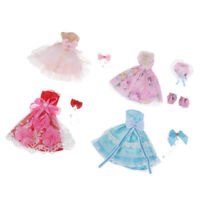 "Princess Tee Dress Evening Clothes Fit for 36cm 14"" Girls Lady Dolls Outfits"