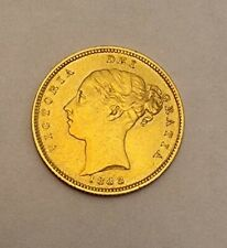 More details for 1883 gold half sovereign queen victoria