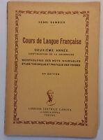 Corse de langue francaise - Henri Gambier - Libreria Ed. Canova - G