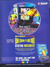 BASF EQ240 Video Tape 1998 Magazine Advert #4466