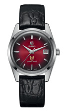 Rado Golden Horse Auto Limited Edition Red Dial LTHR Band Men's Watch R33930355