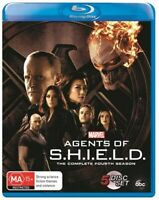 Marvel's Agents Of SHIELD S.H.I.E.L.D : Season 4 (Blu-ray, 5-Disc Set) NEW