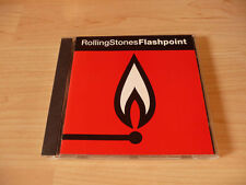 CD Rolling Stones - Flashpoint - 1991 - 17 Songs - Recorded Live 1989/90