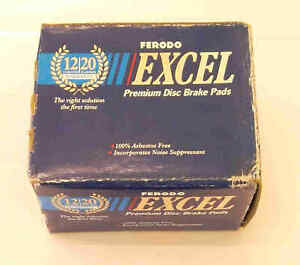 Front Disc Brake Pads DB293 fit Nissan Pulsar Exa N12 82-85 Ferodo Excel