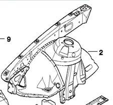 BMW E39 CHASSIE FRAME CLIP FRONT INNER FENDER PANEL RIGHT 525i 528i 530i 540i M5