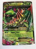 MEGA M Sceptile EX ULTRA RARE 8/98 XY Ancient Origins Pokemon Card HOLO NM REAL