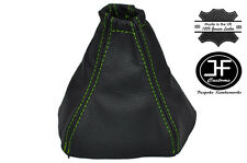 Costura verde Manual Cuero Gear Polaina encaja Kia Sorento 2002-2006