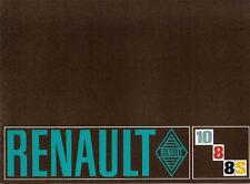 Renault 8 1100 8S & 10 1300 1969-70 Original UK Sales Brochure