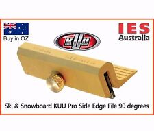 Ski & Snowboard KUU Pro Edging tool, 90 degrees all metal.