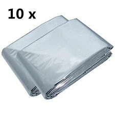 10 x First Aid Survival Rescue Foil Waterproof Emergency BLANKET Thermal Camping