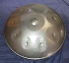 NEW Harmonic Handpan in D-Minor 9-note +Bag *steel handrum hung art*