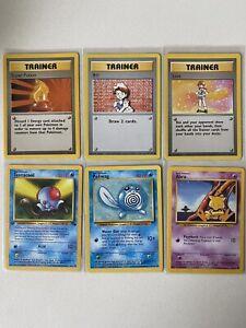 1999 Pokemon WOTC 6x Card Lot