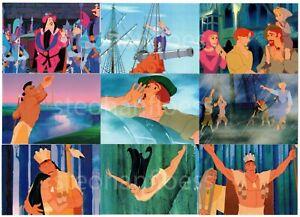 1995 Skybox Disney Pocahontas 90 Card Complete Base Set Pop-Out 3-D Panorama