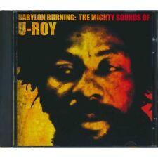 U Roy Reggae Music CD DJ Babylon Burning The Mighty Sounds Of U Roy Album Sealed