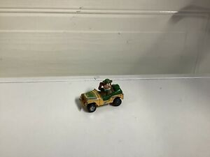 "Corgi 2.4"" YOGI BEAR Diecast Toy JEEP Car 1981 Vintage JELLYSTONE PARKNo:82"