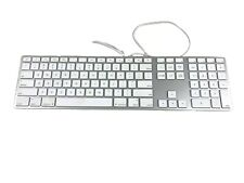 Apple A1243 Wired Aluminum USB Keyboard w/ Numeric Keypad MB110LL/A
