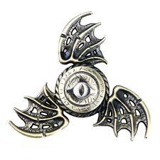Tri Bat Wings Eagle Eye Alloy Fidget Hand Spinner Pocket Relief Toy Lot Steady