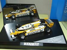RENAULT RE21 GP DU BRESIL 1980 R. ARNOUX QUARTZO boitage renault 1:43