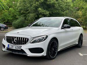 2019 LHD Mercedes C200d AMG Line G-Tronic+ Auto