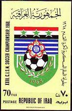 Irak Iraq 1968 ** Bl.12 Fußball Football