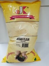 BESAN FLOUR BY JK INTERNATIONAL (1 KG) - GLUTEN FREE GRAM CHICKPEA FLOUR