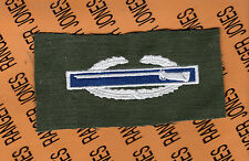 US Army CIB Combat Infantrymans Badge color & OD Green cloth 1st award patch