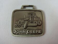 John Deere Grader Metal Watch Fob Tractor Bulldozer Excavating Combine