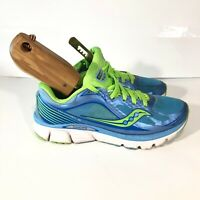 SAUCONY KINVARA 5 BLUE WOMENS RUNNING SHOES SIZE 8 MED GOOD CONDITION