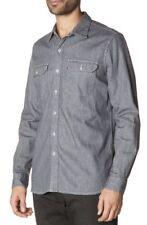 BNWT Levi's ls Workshirt Denim Camisa Tamaño M 19573-0002 Original Garantizada