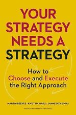 Your Strategy Needs a Strategy : How to Choose and Execute the Right Approach...