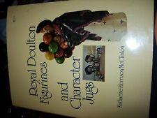 Vintage 1978 Royal Doulton Figurines And Character Jugs Book Katharine Mcclinton