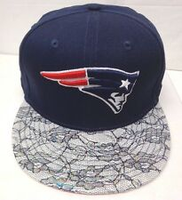 New England Patriots Women's New Era Floral Finish 9FIFTY Snapback Cap Hat