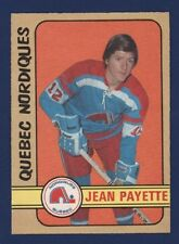1972-73 O-Pee-Chee #311 Jean Payette *High Number* (NRMT+)  Quebec Nordiques !!
