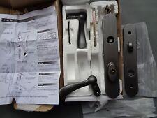 ASHLAND W5207R-KPV17 SWINGING PATIO DOOR KEYED LEVER LOCK TRIM SET OIL BRONZE