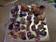 Glass Rock Slag Pretty Red/Yellow 5.0 Uu20 lbs Rocks Landscaping Aquarium