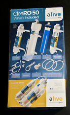 ELIVE CLEARO-50 COMPACT REVERSE OSMOSIS AQUARIUM FILTER SYSTEM BRAND NEW IN BOX