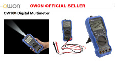 Owon OW18B multi-conne supported mobile app true RMS multimeter bluetooth+flashl
